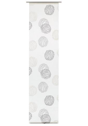 GARDINIA Schiebegardine »Flächenvorhang Stoff Knäuel«, HxB: 60x245 kaufen