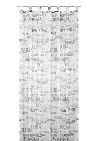 ELBERSDRUCKE Vorhang »City«, HxB: 245x140, Transparent kaufen