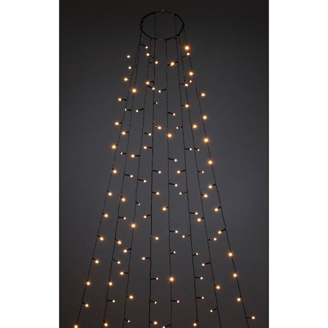 KONSTSMIDE LED-Lichterkette »Baummantel mit Ring und 8 Strängen«