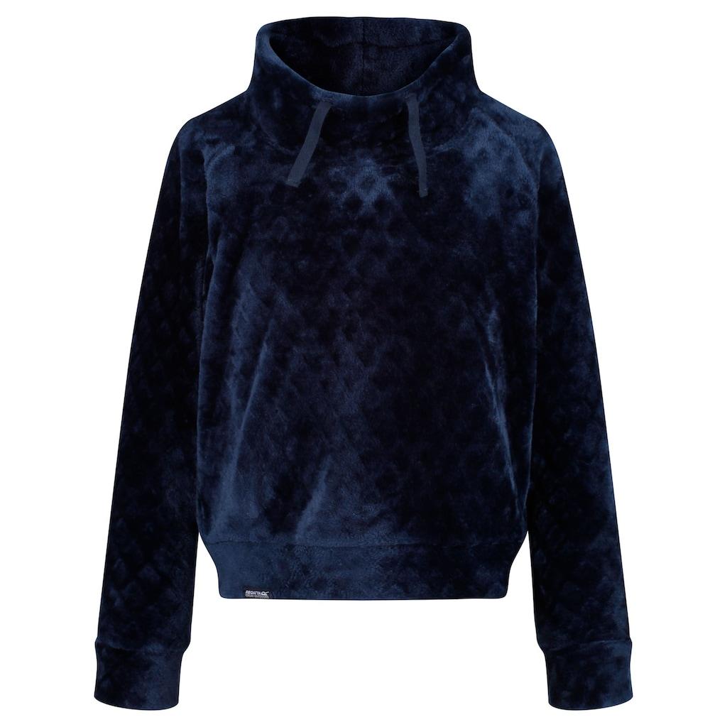 Regatta Fleecepullover »Kinder Habiba Fluffy Stehkragen Fleece Pullover«