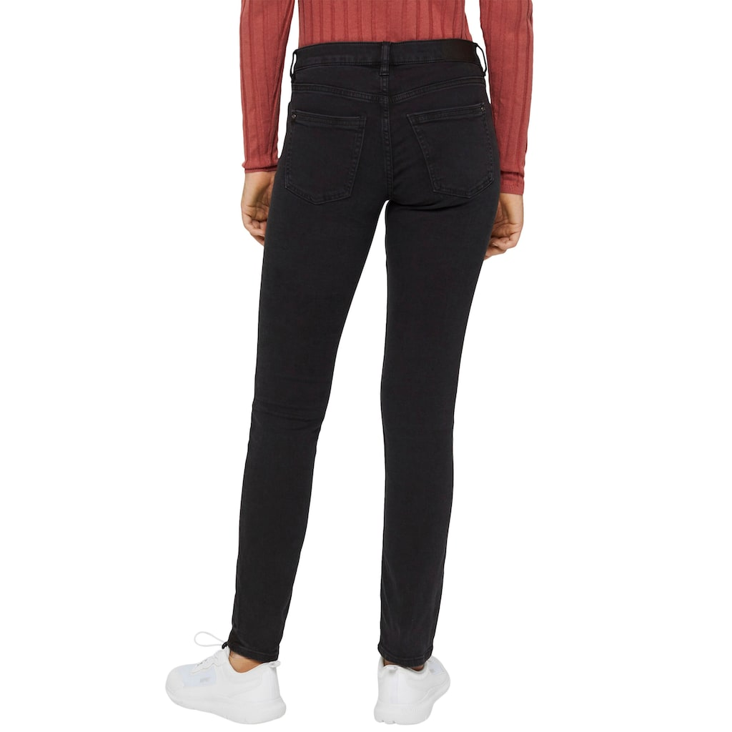 edc by Esprit Skinny-fit-Jeans, mit coolen Washed Out- und Used-Effekten
