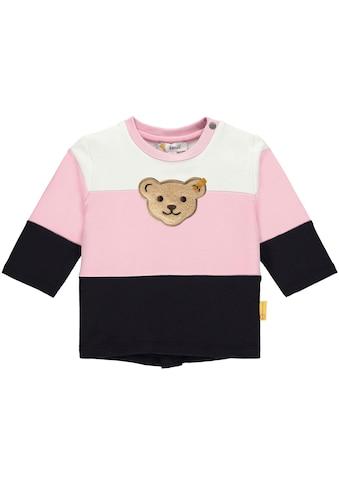 Steiff Sweatshirt »mit Blockstreifen« kaufen
