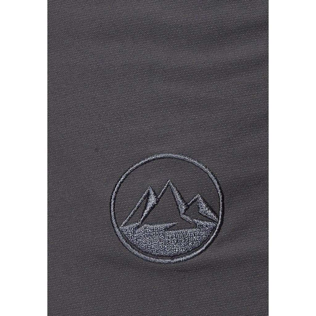 Polarino Trekkingshorts, aus elastischem Funktionsmaterial