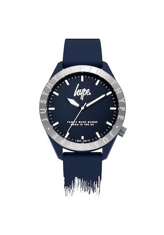 Hype Automatikuhr »Unisex Armbanduhr mit Farbtropfen - Design, analog« kaufen