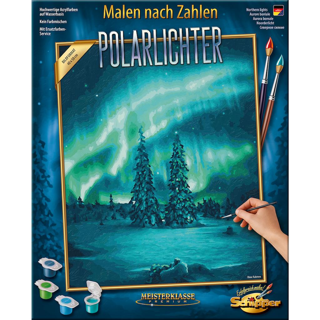 Schipper Malen nach Zahlen »Meisterklasse Premium - Polarlichter«, Made in Germany
