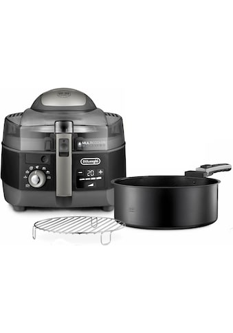 De'Longhi Heissluftfritteuse »MultiFry EXTRA CHEF PLUS FH1396.BK«, 2300 W, Multicooker... kaufen