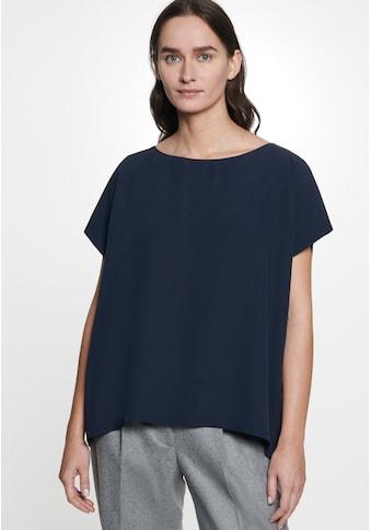 seidensticker Shirtbluse »Schwarze Rose«, Kurzarm U-Boot Uni kaufen