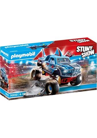 Playmobil® Konstruktions-Spielset »Monster Truck Shark (70550), Stuntshow« kaufen