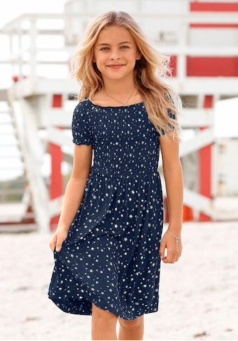 Arizona Sommerkleid, Oberteil mit Smok-Effekt kaufen
