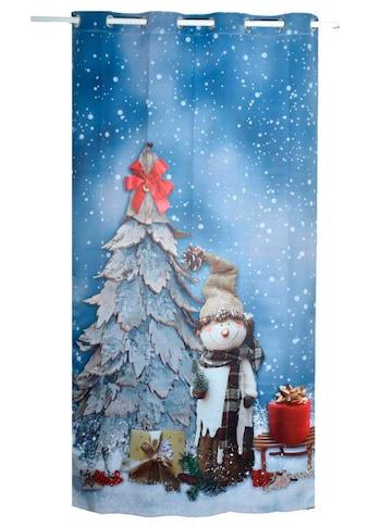Lüttenhütt Verdunkelungsvorhang »SNOWMAN«, Nachhaltig kaufen
