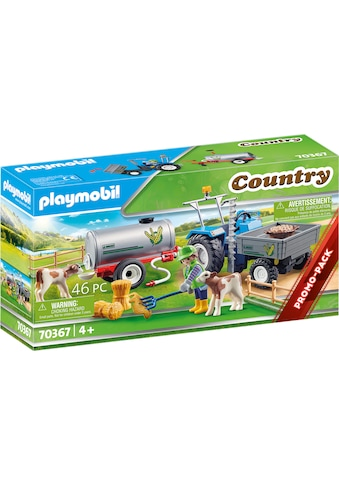 Playmobil® Konstruktions-Spielset »Ladetraktor mit Wassertank (70367), Country«, ; Made in Germany kaufen
