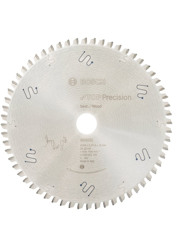 BOSCH Kreissägeblatt »Top Precision Best for Wood«, 29x32x2,3 mm, 60 Zähne kaufen