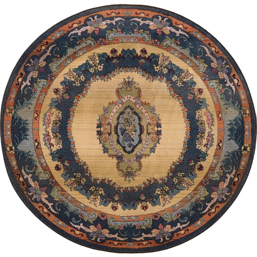 THEKO Teppich »Ben«, rechteckig, 10 mm Höhe, Orient-Optik, Wohnzimmer