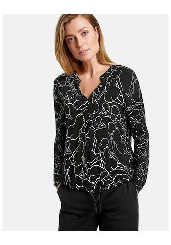 GERRY WEBER T - Shirt 1/1 Arm »Blusenshirt mit Art Print« kaufen