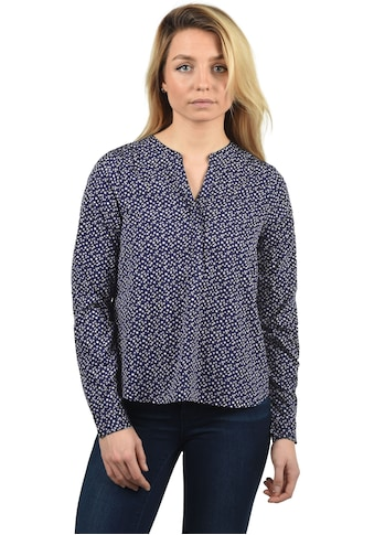 Blendshe Langarmbluse »Amelia«, Bluse mit Vokuhila-Effekt kaufen