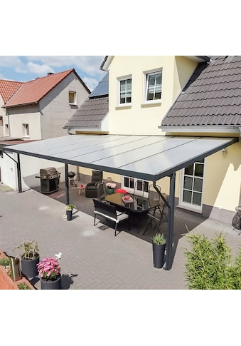 GUTTA Terrassendach »Premium«, BxT: 813x406 cm, Dach Polycarbonat Opal kaufen