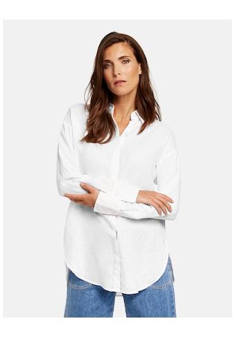GERRY WEBER Bluse 1/1 Arm »Lange Hemdbluse aus Leinen« kaufen