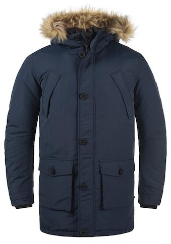 Solid Parka »Frigo«, Winterjacke Kapuze mit abnehmbarem Kunstfell kaufen