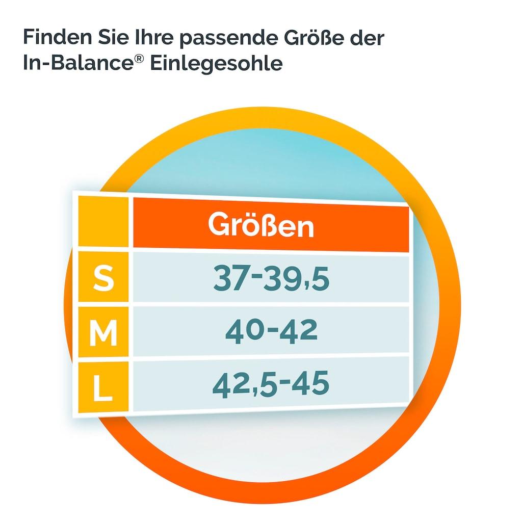Scholl Einlegesohlen »In-Balance bei Schmerzen im unteren Rücken«, in 3 Größen 37-39.5, 40-42 und 42.5-45