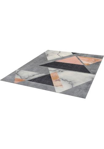 wash+dry by Kleen-Tex Teppich »Velvet Marble«, rechteckig, 9 mm Höhe, In- und Outdoor... kaufen