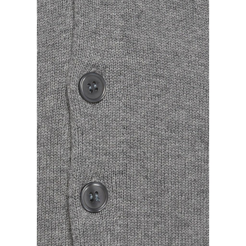 Class International Strickweste, Baumwollmischung mit Kaschmir- Anteil