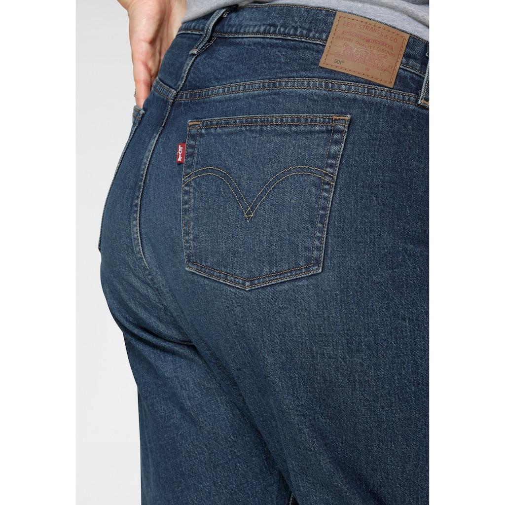 Levi's® Plus Straight-Jeans »501 Crop«, High Waist