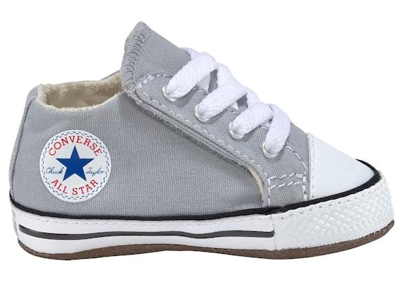 graue Converse Schuhe für Babys und Kleinkinder