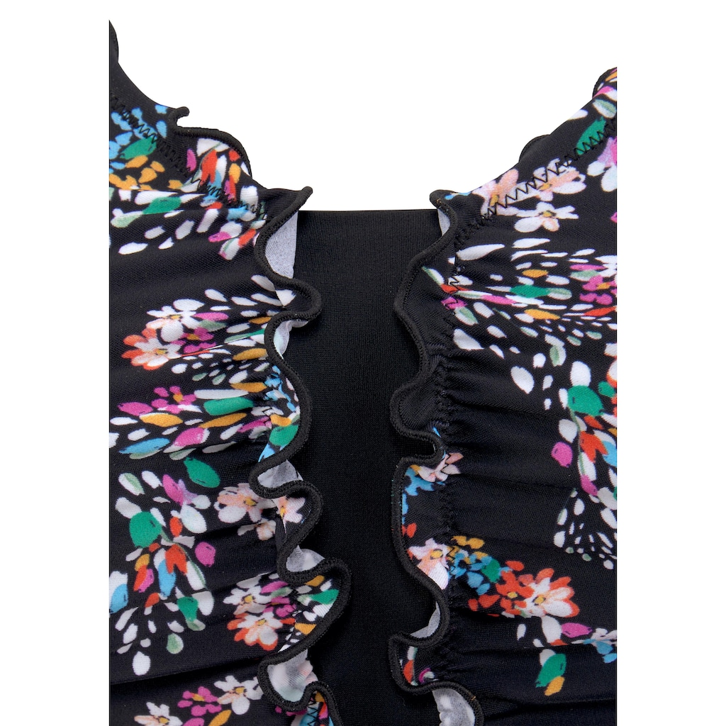petite fleur Badeanzug, mit Rüschen