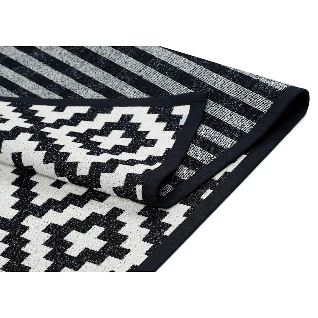 andas Teppich »Tomke«, rechteckig, 7 mm Höhe, Wendeteppich mit zwei Designs, Wohnzimmer