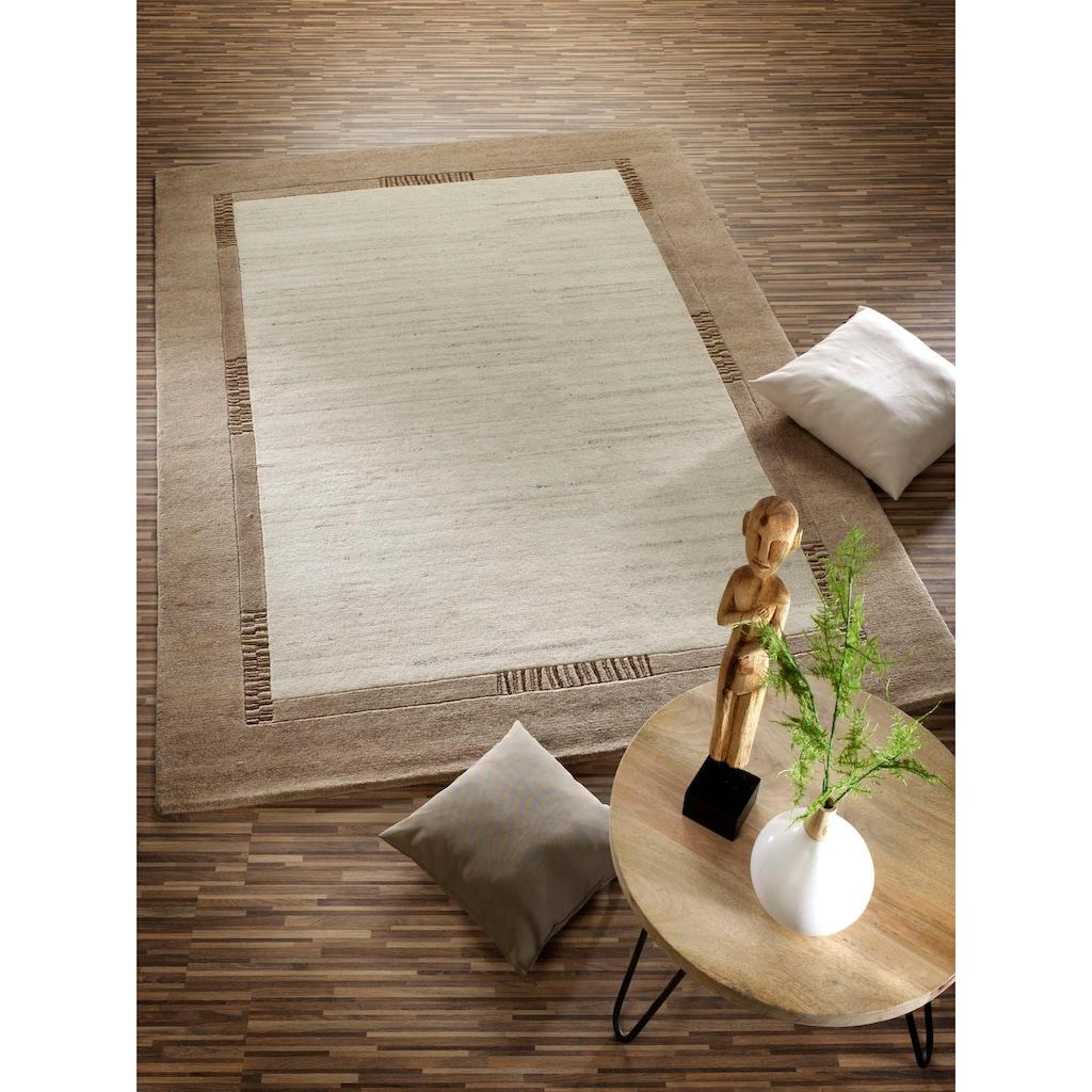 OCI DIE TEPPICHMARKE Orientteppich »Jowea Emotion«, rechteckig, 9 mm Höhe, reine Wolle, handgeknüpft, Wohnzimmer