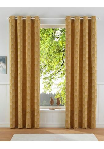 Vorhang, »CHENILLE«, Leonique, Ösen 1 Stück kaufen