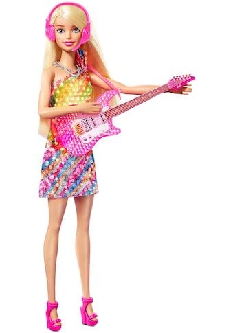 Barbie Anziehpuppe »Big City, Big Dream Malibu Puppe«, mit leuchtendem Kleid und Musik kaufen