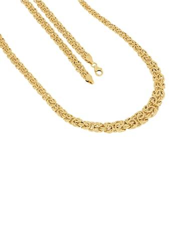 Firetti Goldkette »Königskettengliederung, 6,7 mm  -  11,3 mm breit, spiegeldiamantiert und glänzend« kaufen