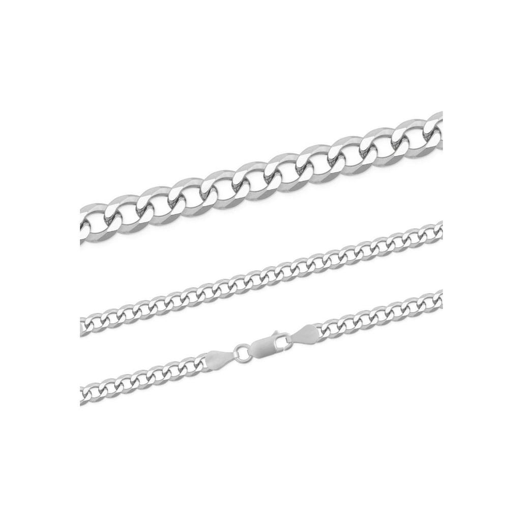 Firetti Silberkette »Panzerkette, glanz, rhodiniert, massiv«