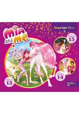Musik-CD »Starter-Box(5)-Folge 13-15 / Mia And Me« kaufen