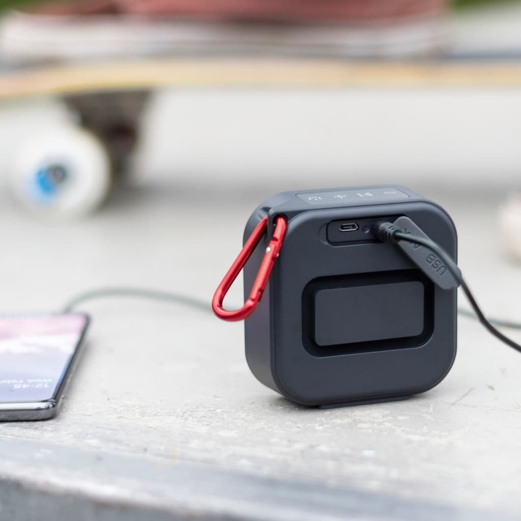 Hama Bluetooth-Lautsprecher »Outdoor-Lautsprecher mit Akku«, kabellos, wasserdicht IPX7