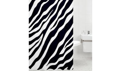 SANILO Duschvorhang »Zebra«, 180 x 180 cm kaufen