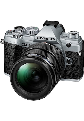 Olympus »OM - D E - M5 Mark III« Systemkamera (M.Zuiko Digital ED 12 - 40mm F2.8 PRO, 20,4 MP, Bluetooth NFC) kaufen