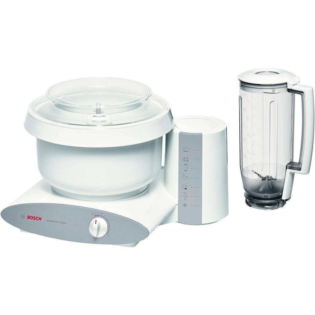 BOSCH Küchenmaschine »Universal Plus MUM6 N11«, 800 W, 6,2 l Schüssel