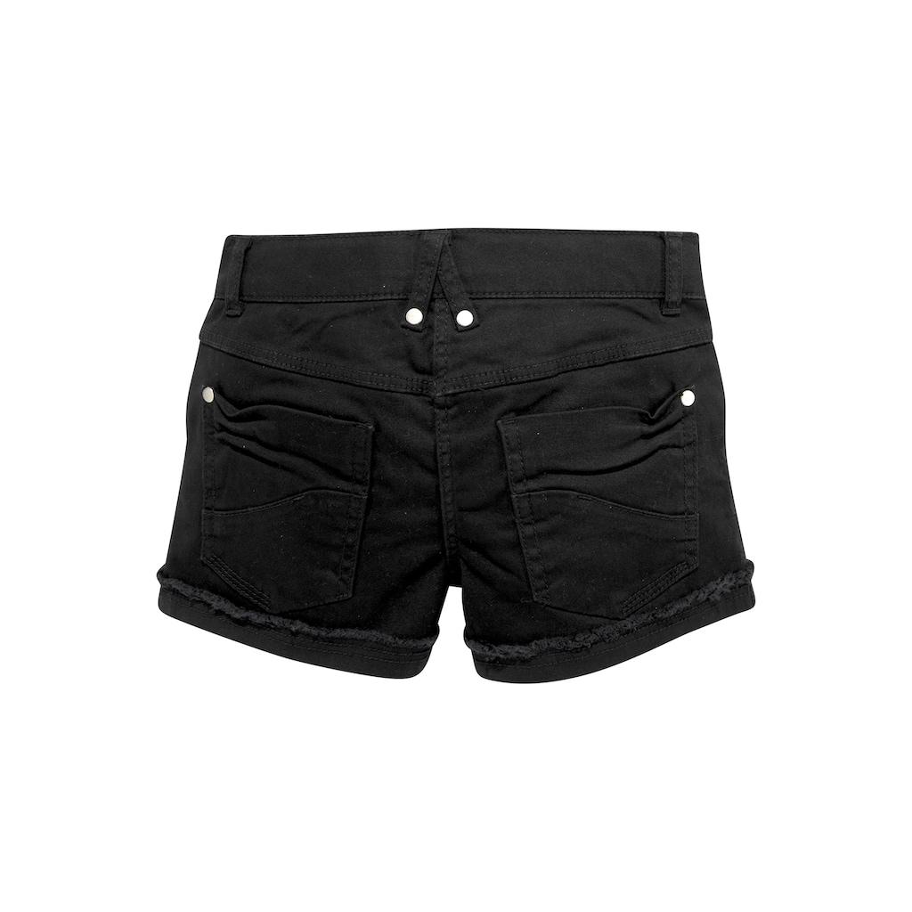 Bench. Shorts, mit dezenten Abriebeffekten
