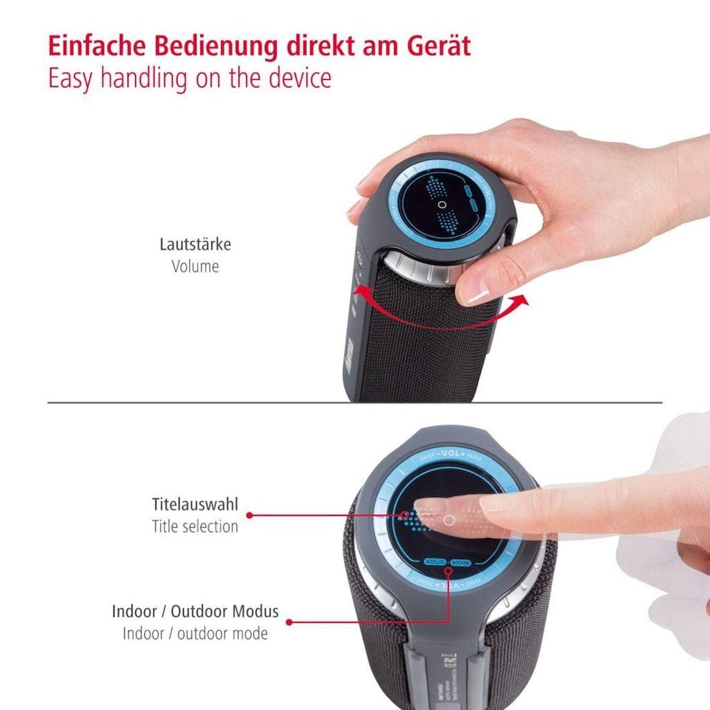 Hama Bluetooth-Lautsprecher »Outdoor, mit Touchpad«, kabellos/24W/AUX/NFC