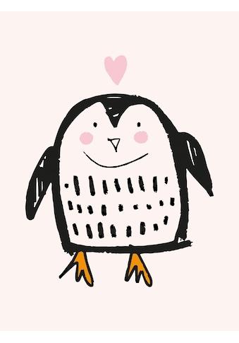 Lüttenhütt Leinwandbild »Pinguin« kaufen