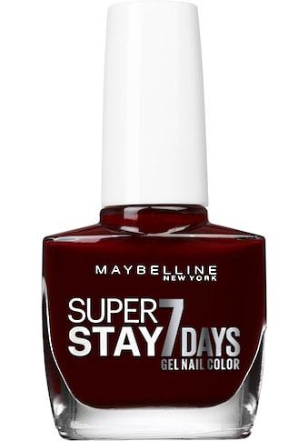 """MAYBELLINE NEW YORK Nagellack """"Superstay 7 Days"""" kaufen"""