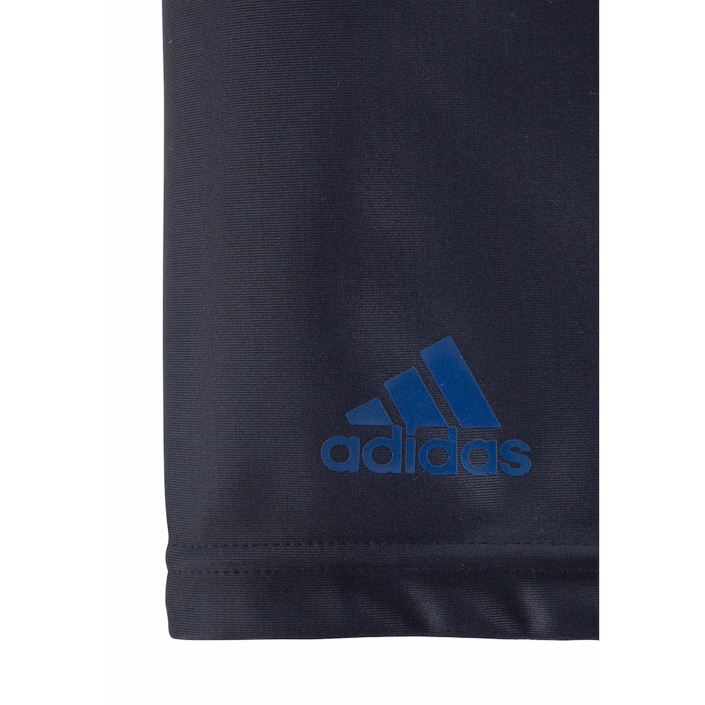 adidas Performance Boxer-Badehose, mit großem Logoschriftzug