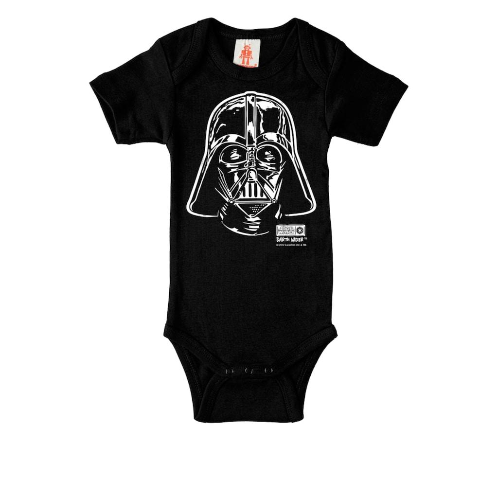 LOGOSHIRT Body mit Darth Vader-Frontdruck