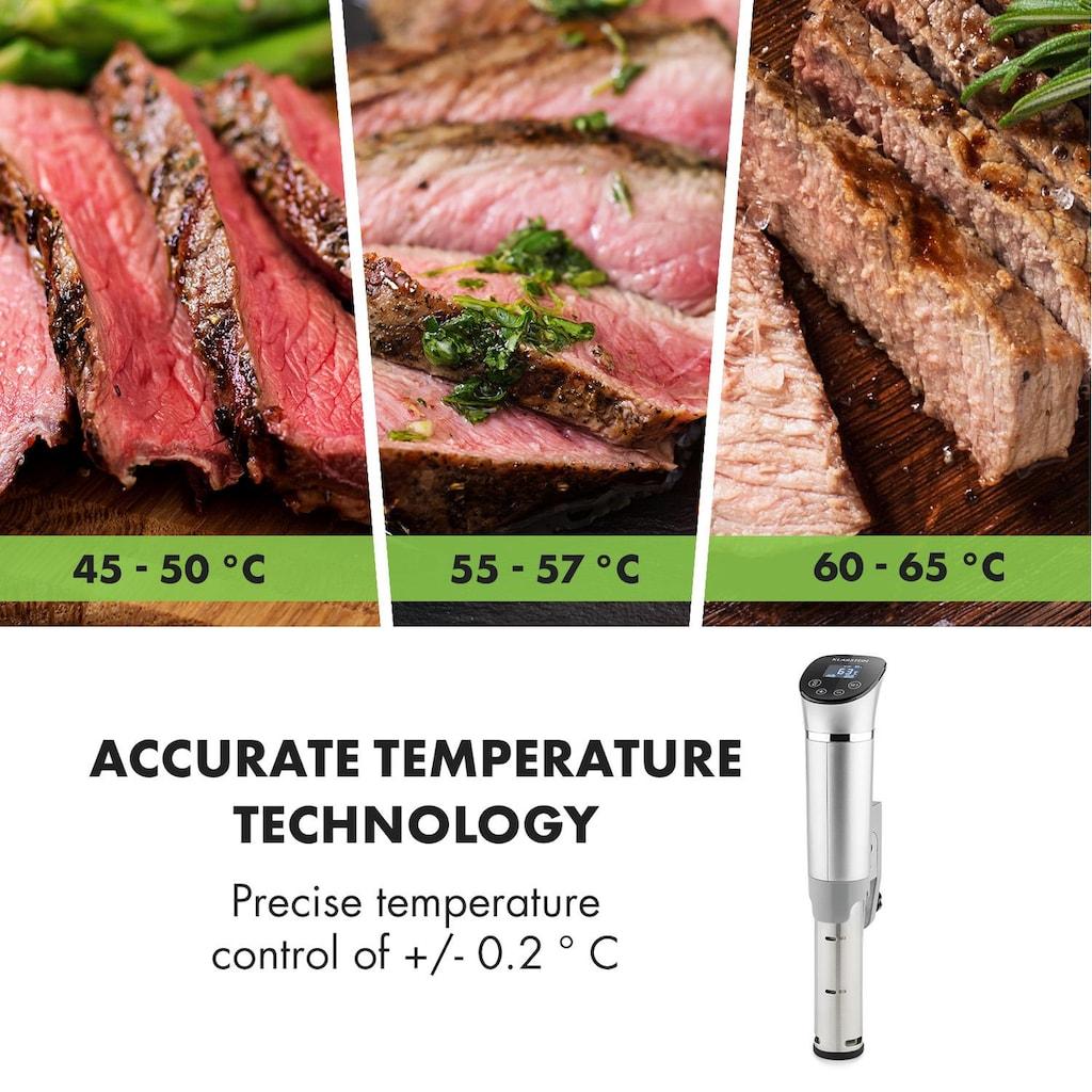 Klarstein 1300W 3D Circulating 0-95 °C IPX7 Time Souis Vide, Kochen