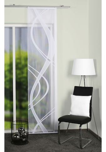 HOME WOHNIDEEN Schiebegardine »TIBASO«, transparent kaufen