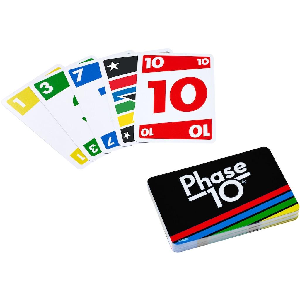 Mattel games Spielesammlung »Kartenspiel-Klassiker in Metalldose: UNO, Phase 10, Pic Flip«