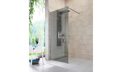 WELLTIME Walk - In Dusche »Duschabtrennung«, Breite 90 cm, Grauglas kaufen