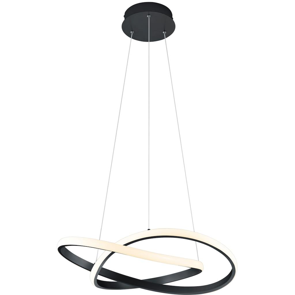 TRIO Leuchten LED Pendelleuchte »LED-Pendel MIRA«, LED-Board, 1 St., Warmweiß, Hängeleuchte, Switch Dimmer